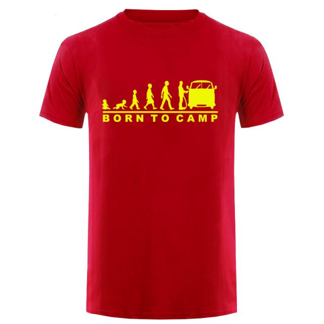 VW BUS Cotton Short Sleeve O-Neck Printed T-Shirt