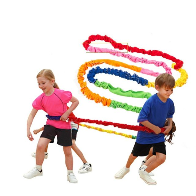 Kid's Outdoor Team Cooperation Work Game, Develops Team Building Skills