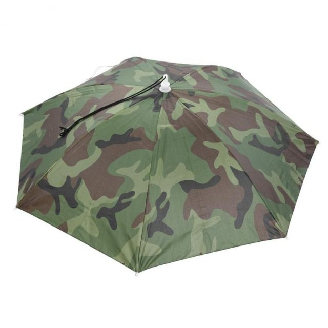 CRAZY BUT BRILLIANT ! Foldable Anti-UV Head Umbrella Ideal for Focused Fishing
