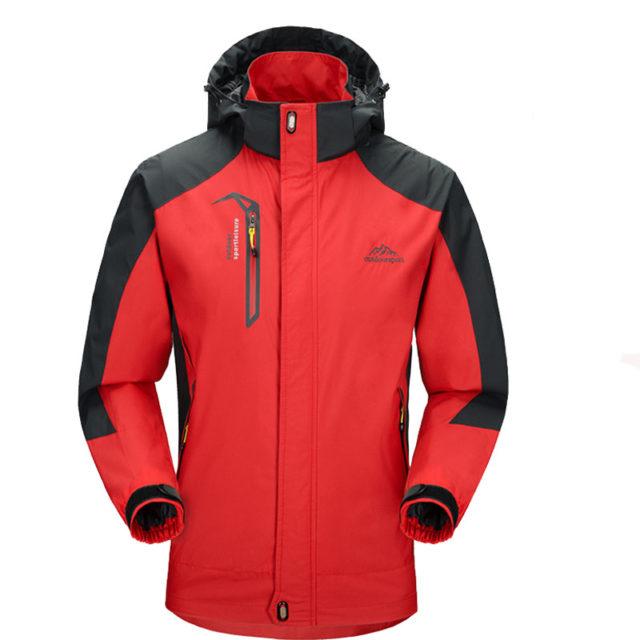 Men's Waterproof and Windproof Hiking Jacket